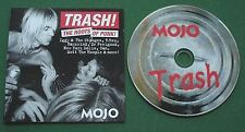 Mojo Trash Roots of Punk T Rex New York Dolls Mott The Hoople Dr Feelgood + CD
