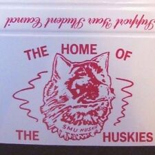 SPORTS HOCKEY: SAINT-MARY'S HUSKIES HOCKEY TEAM LOGO (UNIVERSITY OF HALIFAX) M12