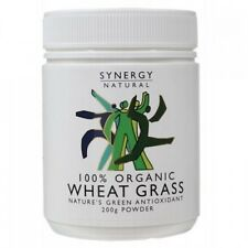 Synergy Natural Wheat Grass Organic Powder 200g | Wheatgrass