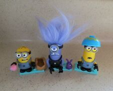 MEGA CONSTRUX DESPICABLE ME MINIONS - EASTER 2017 - COMPLETE SET OF 3 - OPENED