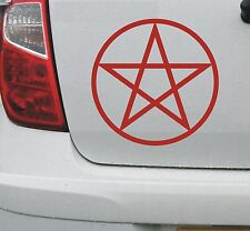 Pentagram pentacle pantacle symbol vinyl car decal sticker #2 (sml) - DEC1069