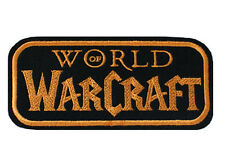Iron on and Sew On Embroidered Patch WOW World of Warcraft Logo