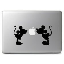 Mickey Minnie Kissing Vinyl Decal Sticker for Macbook Laptop 11 12 13 14 15 17""