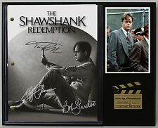 "SHAWSHANK REDEMPTION LTD Edition Reproduction Signed Movie Script Display ""C3"""
