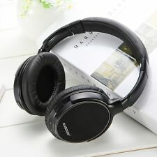 AUSDOM M06 Wireless Bluetooth Headset Stereo Deep Bass Headphones Headband w/Mic