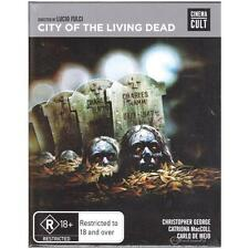 BLU-RAY CITY OF THE LIVING DEAD Cinema Cult Horror 1980 R18+ REGION B [BNS]