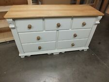 REGENCY PAINTED 7 DRAWER MULTI CHEST SIDEBOARD HAND MADE BESPOKE SIZES & COLOURS
