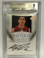 2012 KLAY THOMPSON EXQUISITE COLLECTION ROOKIE AU BGS 9 MINT AUTO 124/199