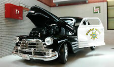 G LGB 1:24 Scale Chevrolet Aerosedan Fleetline 1948 USA Highway Police Car 76454