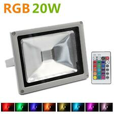 20W RGB LED Flood Lights AC Waterproof 20 Watt