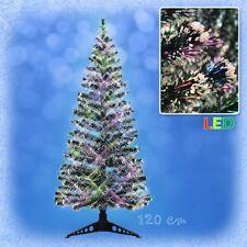 120 cm LED Weihnachtsbaum mit farbwechselnden Lichtfasern