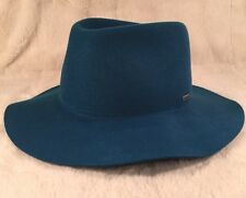 "New KANGOL Men's ""BARCLAYS TRILBY"" Hat Fedora K5008HT Large Cyan"