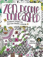 Freeform Zen Doodle : How to Draw and Color Meditative Tangle Art by Tiffany...