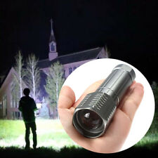 High Power 3000Lumen Zoomable CREE LED Flashlight Torch Zoom Light Adjustable DH