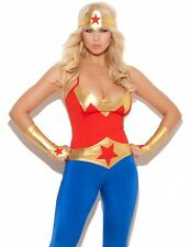 Wonder Woman Costume XL Women Sexy Adult Cosplay Superhero DC Comics Halloween