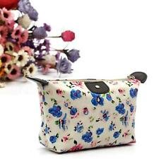 Women Fashion Floral Travel Make Up Case Cosmetic Pouch Bag Clutch Handbag Purse
