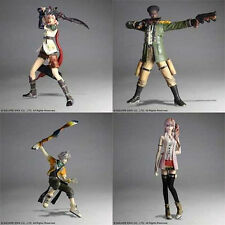 "*NEW IN BOX* Final Fantasy XIII Trading Arts 4 5"" Figure Action Set"