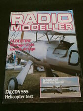 RADIO MODELLER - FALCON 555 HELICOPTER TEST - MARCH 1984
