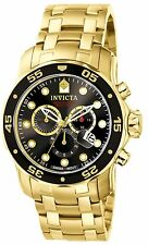 Invicta Men's 0072 Pro Diver Gold & Black Dial Swiss Watch Authorized Retailer