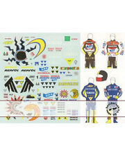 1/12 DECAL for HELMET & FIGURE ROSSI MOTO GP 02-05 for TAMIYA
