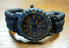 NEW! Smith & Wesson EGO Collection Watch with Handmade Paracord 550 Watch Band