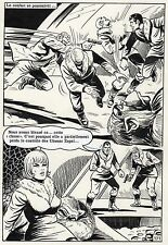 CREATURE DES NEIGES (ESPINOSA/JIMMY GUIEU) PLANCHE  AREDIT PAGE 171 YETI