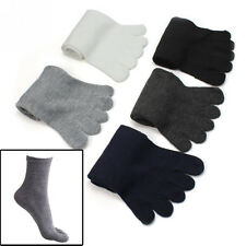 5 Pairs Fashion Men Five Fingers Separate Toe Socks Comfortable Warm Hot Hoc