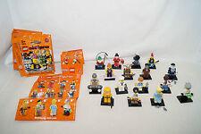 LEGO 8804 Minifiguren Set 4 alle 16 Stück unbespielt