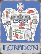 London Crown fridge magnet    (og)