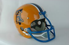 1975  WFL Philadelphia Bell Suspension Football Helmet