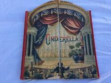 RARE 1891 Mcloughlin Bros CINDERELLA Stage Theater Childrens Book