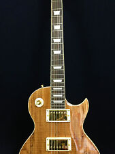 4/4 Haze Spalt Maple-Mahogany Les Paul Electric Guitar+Free Gig Bag,Picks.227GC