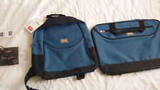 Brand New: COTTON TRADERS Backpack AND Suitcase matching colour set