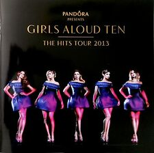 GIRLS ALOUD * TEN: THE HITS TOUR PROGRAMME w/ FLYER * BN&M! * CHERYL  * NADINE