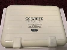 VERY RARE Limited Edition Sega Game Gear White Boxed In Plastic Case NTSC JAPAN