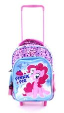 NEW MY LITTLE PONY TROLLEY TRAVEL BAG BACKPACK PINKIE PIE HOLIDAY GIRLS BAG