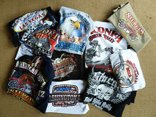 Harley Davidson/Biker 'T' shirts cotton(qty4 for £19) Medium USA made post free)