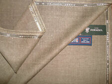 DORMEUIL 71% Wool, 14% SILK, 10% LINEN, 5% MOHAIR SUITING/JACKETING FABRIC-3.4 m