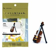 Nanoblock Violin 180 Pcs Building Kit S.58110