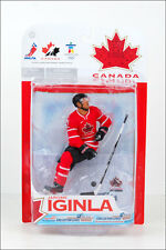 McFarlane NHL Team Canada 2010 Jerome Iginla - Red Jersey (Avs/Flames) Figure