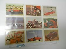 1966 HOT ROD Magazine SPEC SHEET Complete Card Set 66 FVF 7.0
