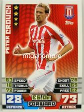 Match Attax 2014/15 Premier League - #270 Peter Crouch - Stoke City