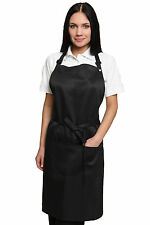 Restaurant cafe pub bar restauration barista serveuse tabard tabbard bib tablier noir