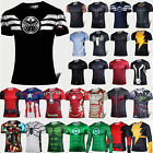 Superhero Costume Mens Stretch T-Shirts Sports Base Layer Cycling Tee jersey Top