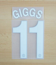 *09 / 10 ; MAN UTD HOME / NAME AND NUMBERED / GIGGS 11 = KIDS*