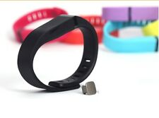 Replacement TPU Wrist Band Clasp for Fitbit Flex Bracelet Adjustable Black