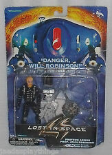 """Lost in Space Action Figure JOHN ROBINSON Proteus Armor 4"""""""
