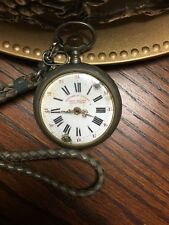 "Antique French Pocket Watch ""Not Working"""