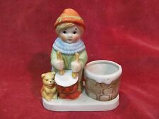 1980 DRUMMER BOY TOOTHPICK  VOTIVE CANDLE CANDY HOLDER