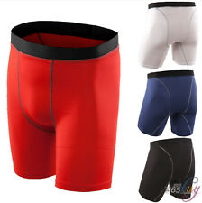 Mens Women Sports Compression Base Layers Tops Tight T-Shirt/Vests/Pants Shorts